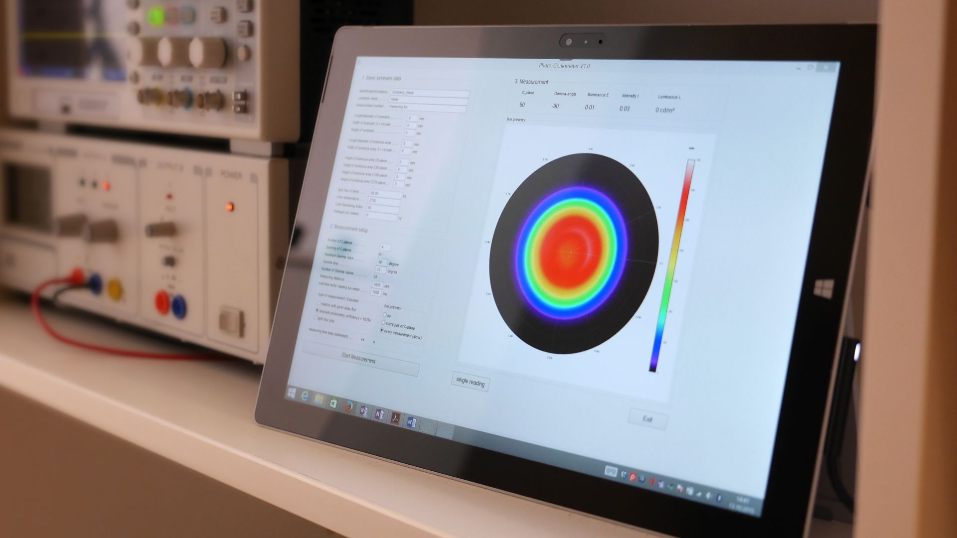 LITEstudio_Goniometer_Software
